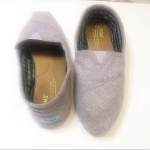 🎇 TOMS Rose Chambray with Pink Sole | Sz 10W